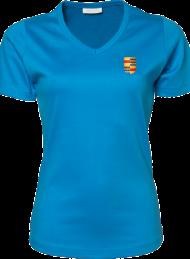 dames shirt 585_alumni logo_azure_nyenrode
