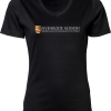 Ladies V-Neck Interlock T-Shirt Nyenrode Alumni VCV Original Logo