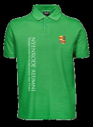 heren polo 1400_alumni logo 2015_green_nyenrode