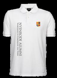heren polo 1400_alumni logo 2015_white_nyenrode