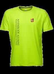 heren sportshirt 7020_alumni logo 2015_lime_nyenrode
