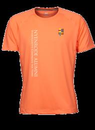 heren sportshirt 7020_alumni logo 2015_orange_nyenrode