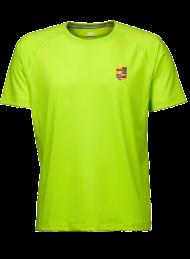 heren sportshirt 7020_alumni logo_lime_nyenrode