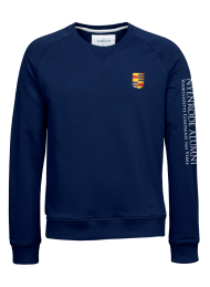 heren sweater 5400_alumni logo 2015_navy_nyenrode