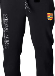 jogging pant_alumni logo 2015_black_nyenrode