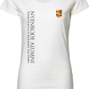Ladies Stretch Tee Extra Long Nyenrode Alumni VCV Logo 2015