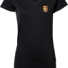 Ladies Stretch Tee Extra Long Nyenrode Alumni VCV Logo