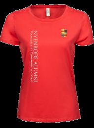 tshirt dames 5001_alumni logo 2015_coral_nyenrode