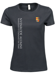 tshirt dames 5001_alumni logo 2015_dark grey_nyenrode