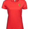 Ladies Luxury Tee Nyenrode Alumni VCV logo