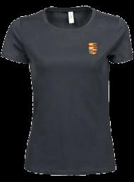 tshirt dames 5001_alumni logo_dark grey_nyenrode