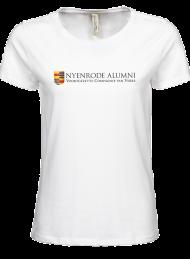 tshirt dames 5001_original_white_nyenrode