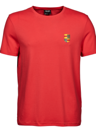tshirt heren 5000_logo_coral_nyenrode