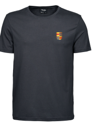 tshirt heren 5000_logo_dark grey_nyenrode